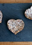 date, chia and oat slice